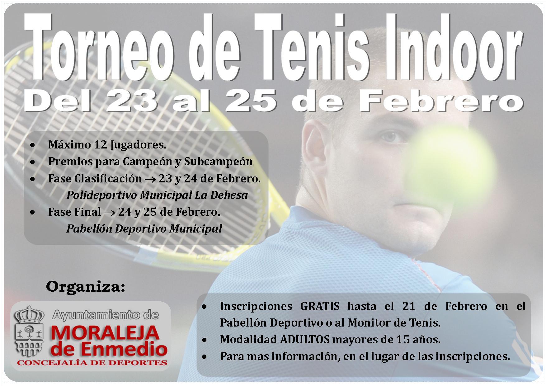 Torneo de Tenis Indoor