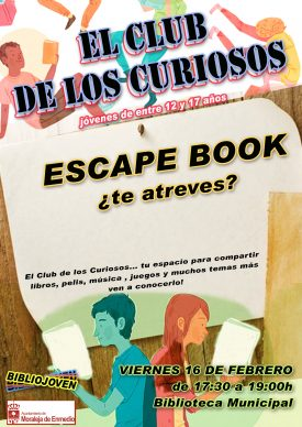 Escape Book- El Club de los Curiosos