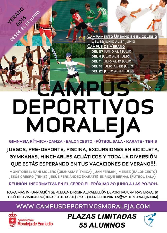 Campus deportivos Moraleja