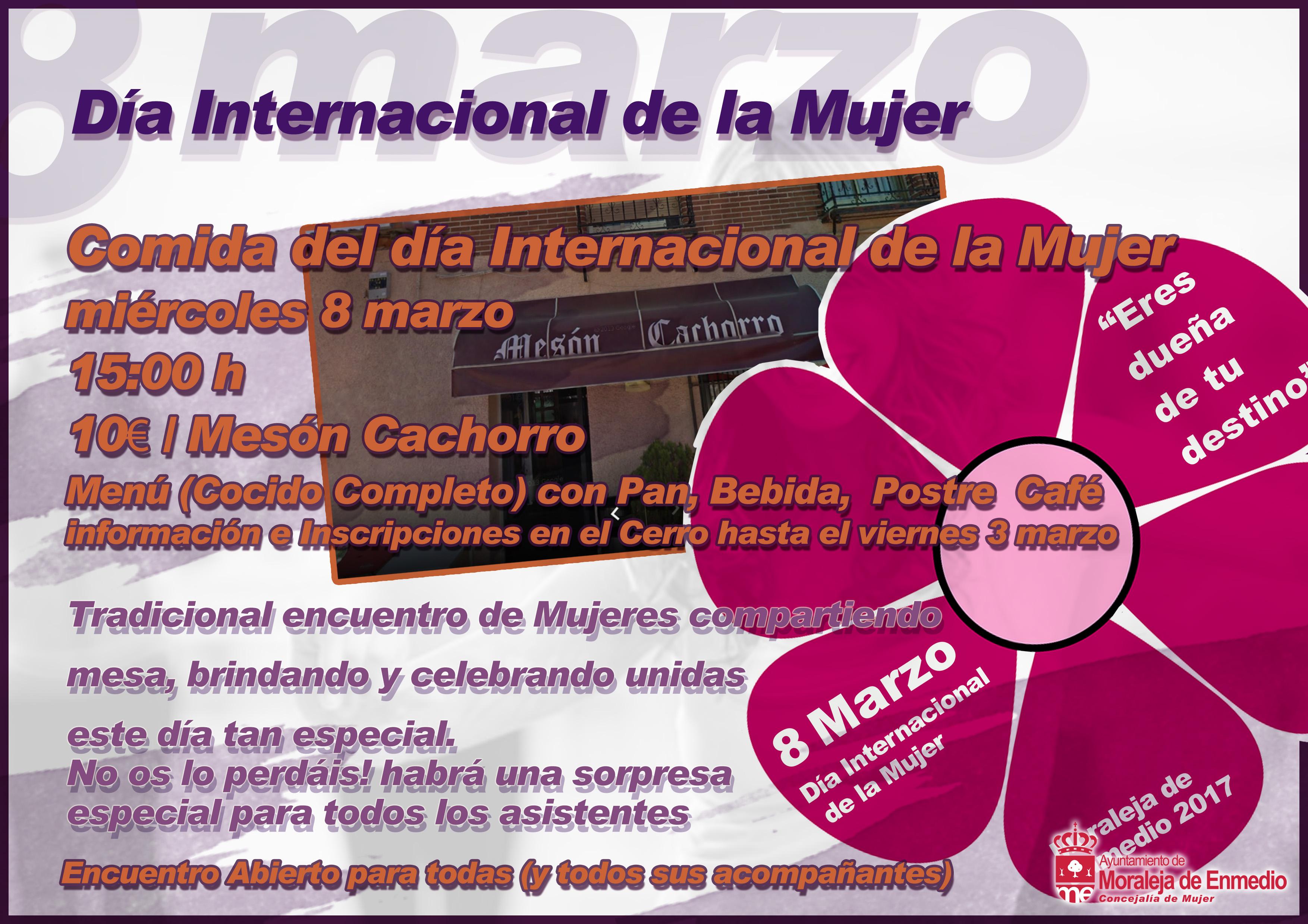 Día Internacional de la Mujer: COMIDA
