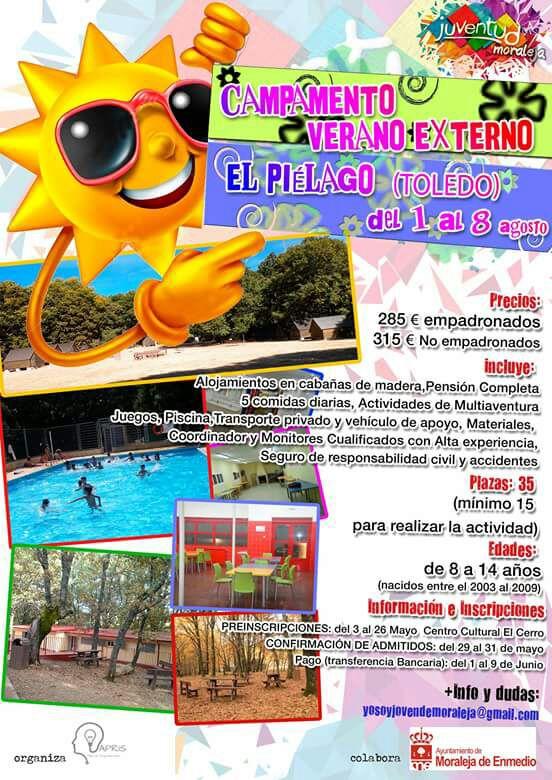Campamento de verano externo