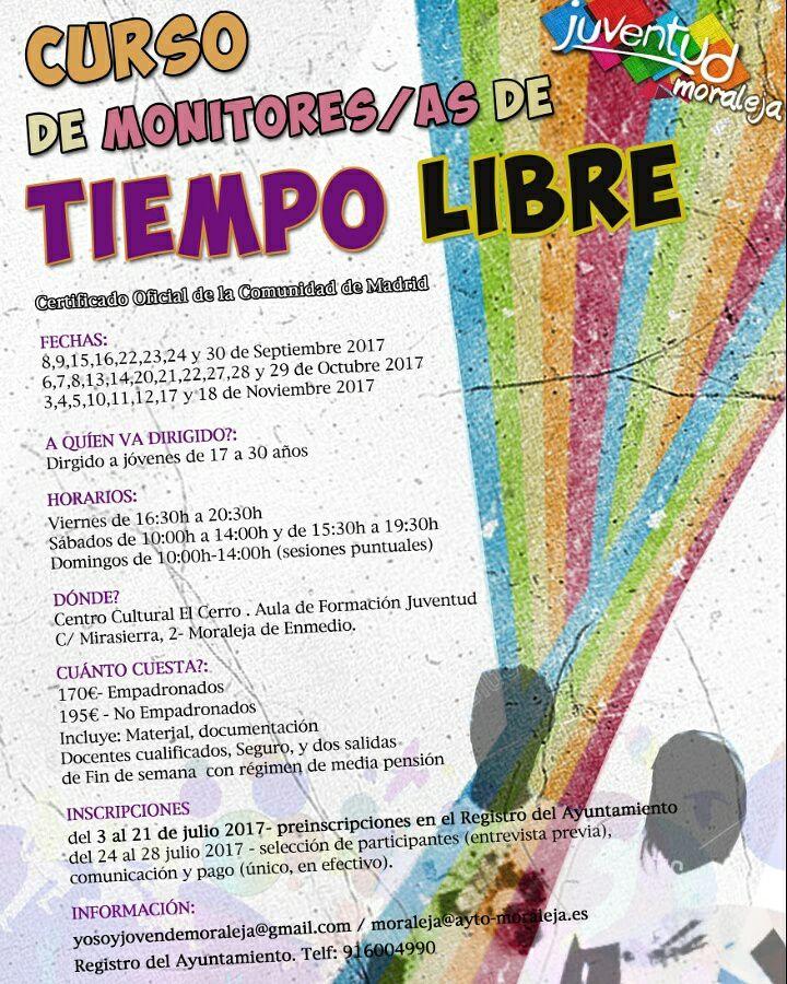 Curso de monitores/as de Tiempo Libre