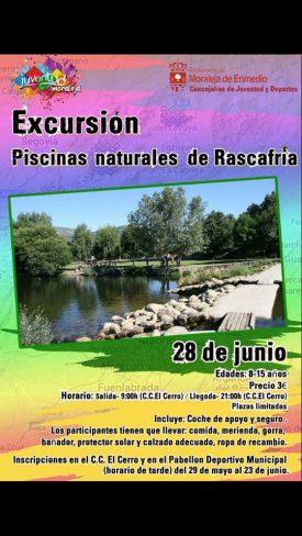 Excursión a las Pscinas Naturales de Rascafría