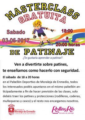 Masterclass Gratuita de Patinaje