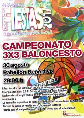 Campeonato 3x3 Baloncesto