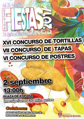Concursos de Tortillas, Tapas y Postres