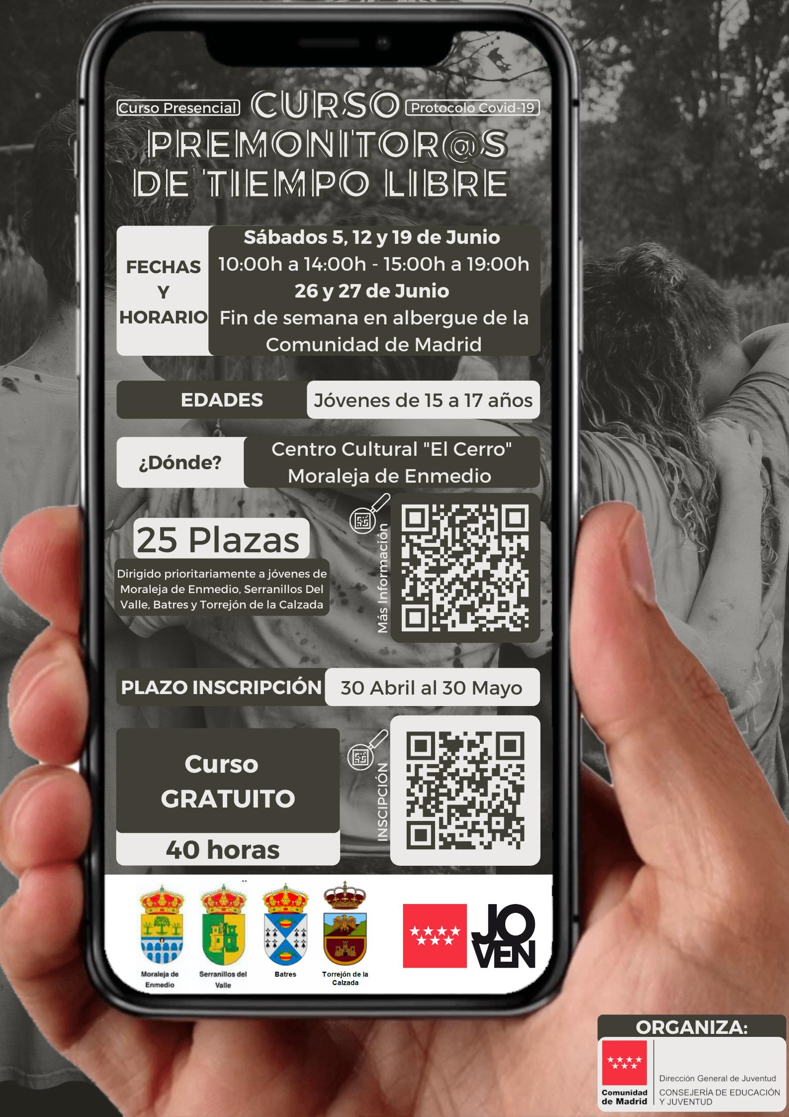 CURSO PREMONITOR@S DE TIEMPO LIBRE
