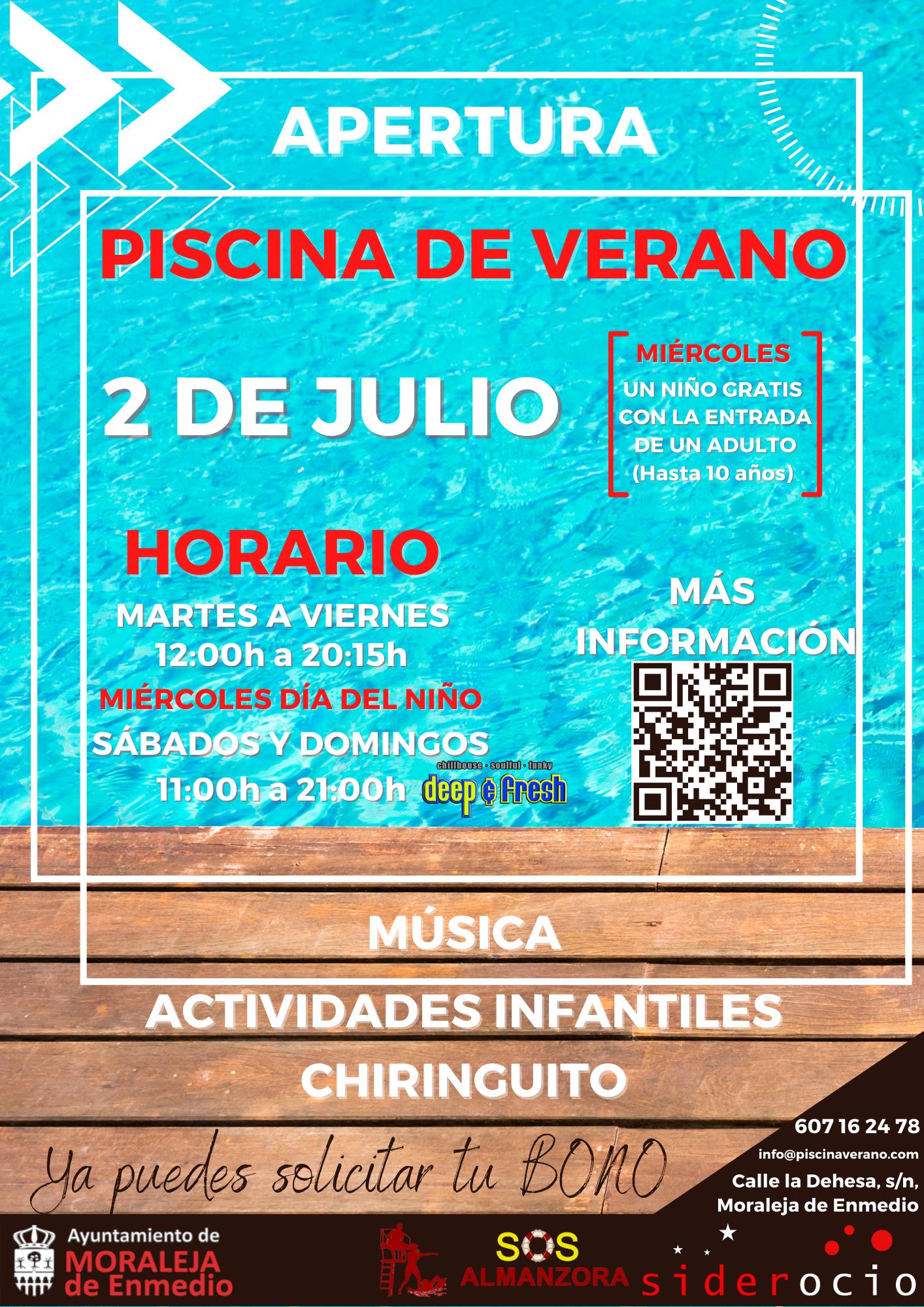PISCINA MUNICIPAL DE VERANO