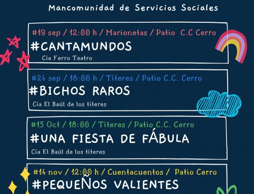 I FESTIVAL DE TITERES, CUENTACUENTOS Y MARIONETAS